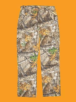 Berne Boys Camo Duck Field Pants Camouflage Large
