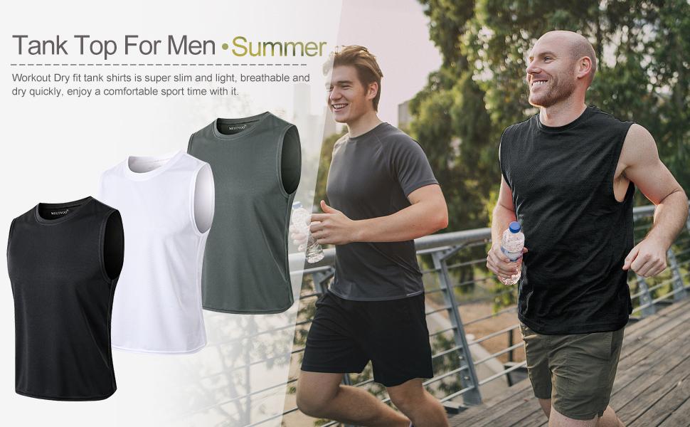 tank tops for men running gym