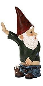 Peeing Garden Gnome