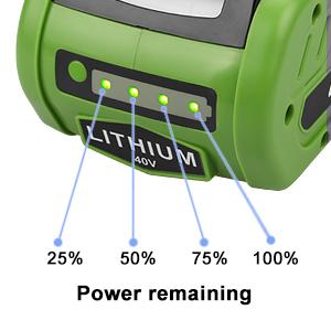 greenworks battery 40v