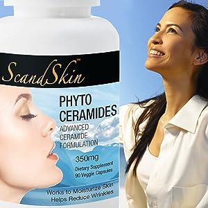 phytoceramises, ceramides, anti ageing, anti wrinkle, ceramide capsules, rice phytoceramides