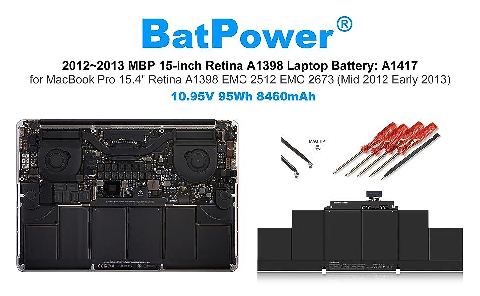 Apple A1417 Battery