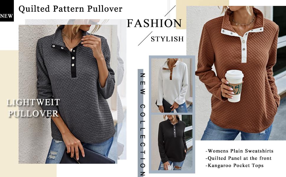 pullover sweatshirt for women 1/4 zip pullover women women quarter zip pullover pullover sweatshirt