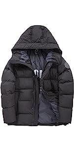 Puffer coat for Men Winter