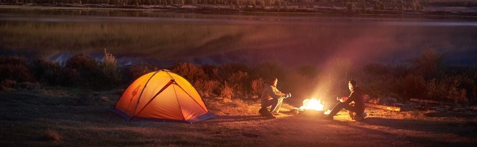 camping banner image off grid tools