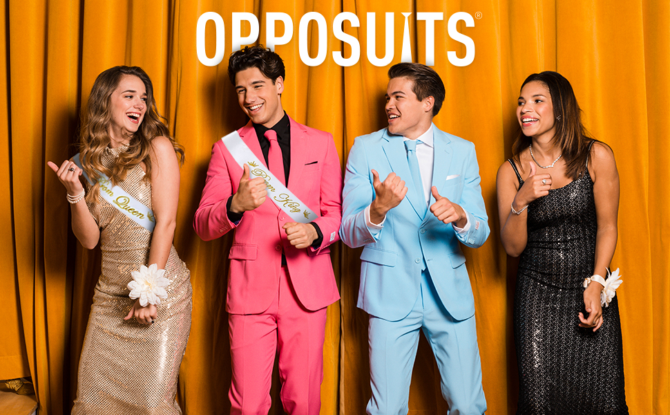 Opposuits solid suits prom party fun costumes