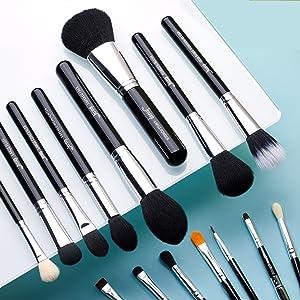 Jessup make up brushes set