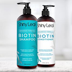 Biotin Anti-Hair Loss Shampoo and Conditioner
