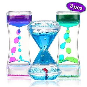 Liquid timer bubbler