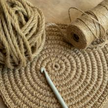 Koord 10 mm natuurlijke touw jute touw 6 mm koord dikte 30 mm koord dik decoratief touw touw touw natuurlijke jute touw
