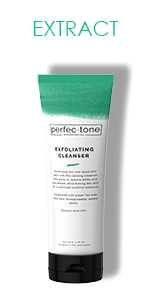 exfoliate, skin care, clean, extract, fortify