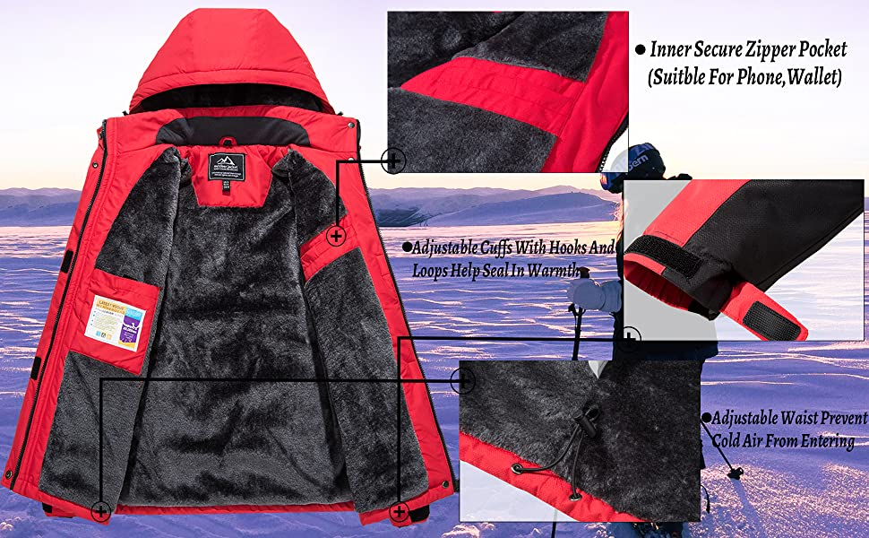ski jacket for women