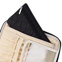 cosmetic travel bags for women, cosmetiquera de maquillaje, make up travel bags, huge makeup bag