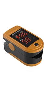 pulse oximeter orange