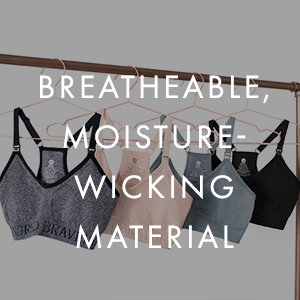Breathable, moisture-wicking material
