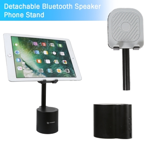 1  2 in 1 Bluetooth Speaker Phone Holder, Portable Wireless Speaker with Enhanced Bass and Stereo Sound, Adjustable Phone Stand, Compatible with All Mobile Phones, Suitable for Outdoor and Indoor 8a6238c7 0669 4e27 9eee 9db392e4ec16