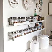 floating shelves white for wall book bathroom bedroom  nursery hanging kids ledge mini corner ikea