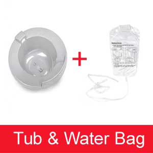 Sitz Bath Tub and Water Bag