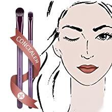 anjou makeup brushes stippling brush brush makeup eyebrow brushes