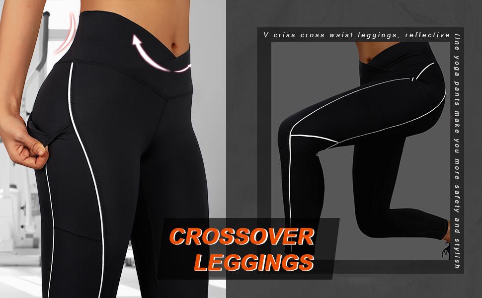 v cross leggings