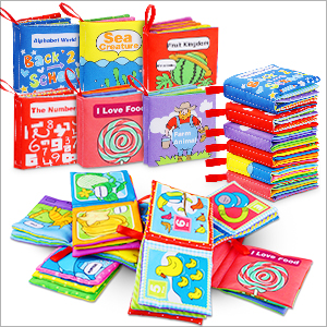 cloth infant books