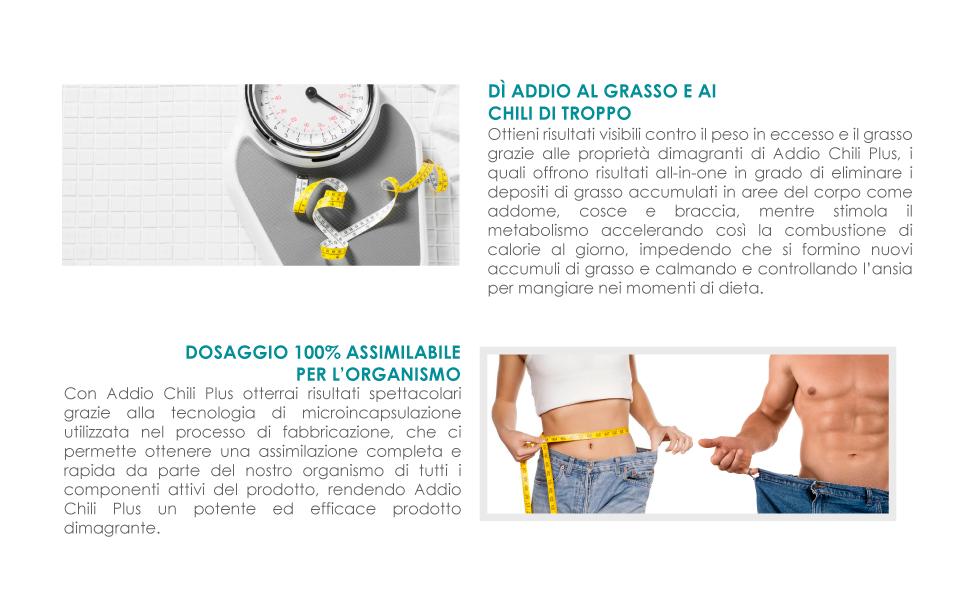 11 chili di perdita di pesona