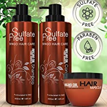 argan oil deep conditioner and shampoo