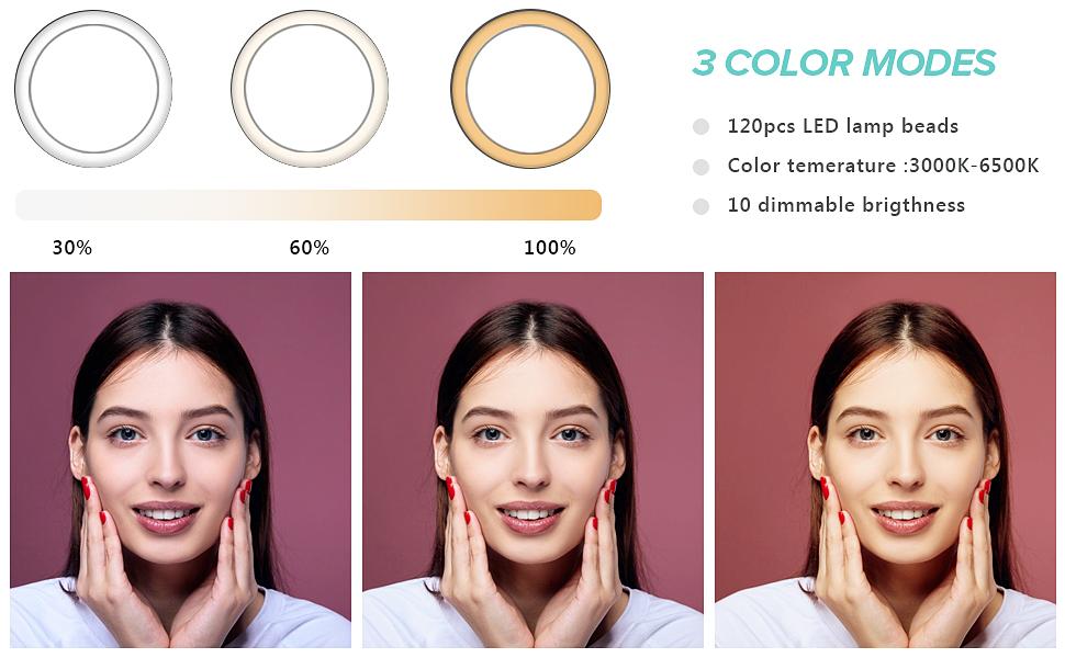 3 light modes