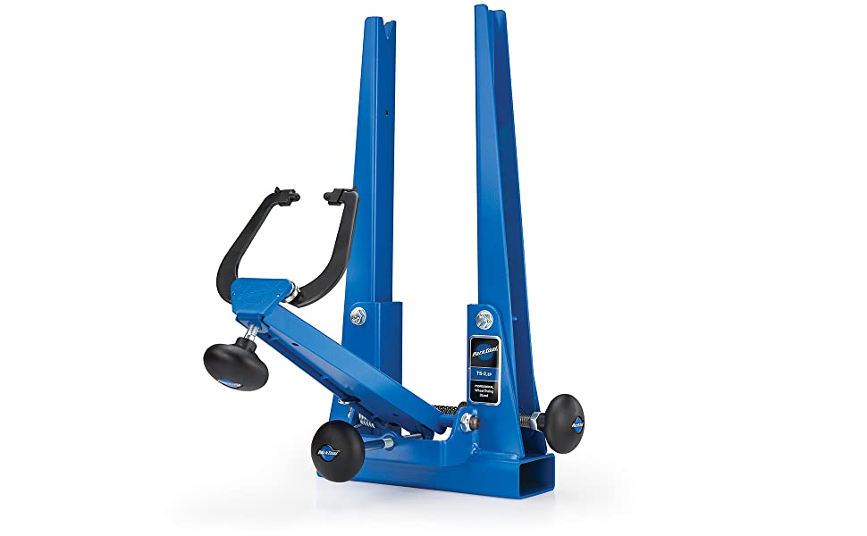 Beauty shot of Park Tool TS-2.2P Bicycle Wheel Truing Stand
