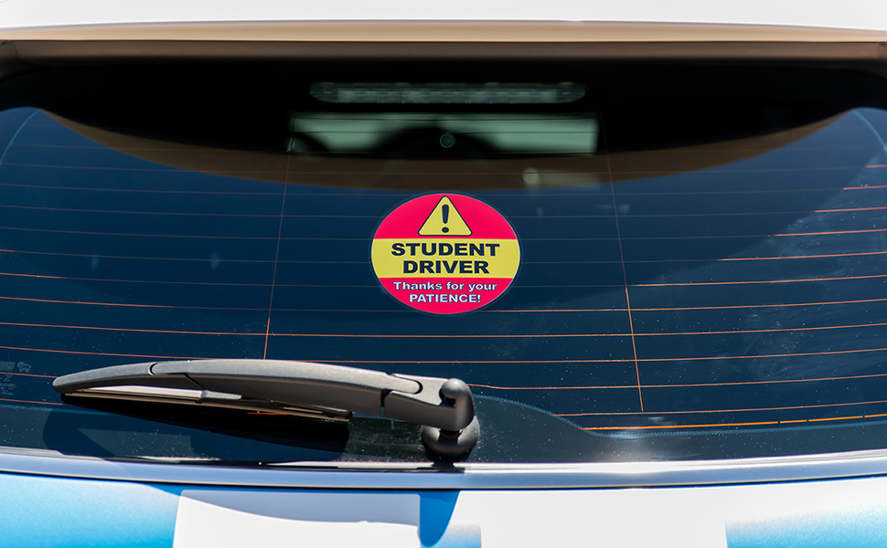 STUDENT DRIVING SIGN