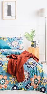 sunflowers comforter