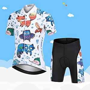 boys' cycling clothing suit