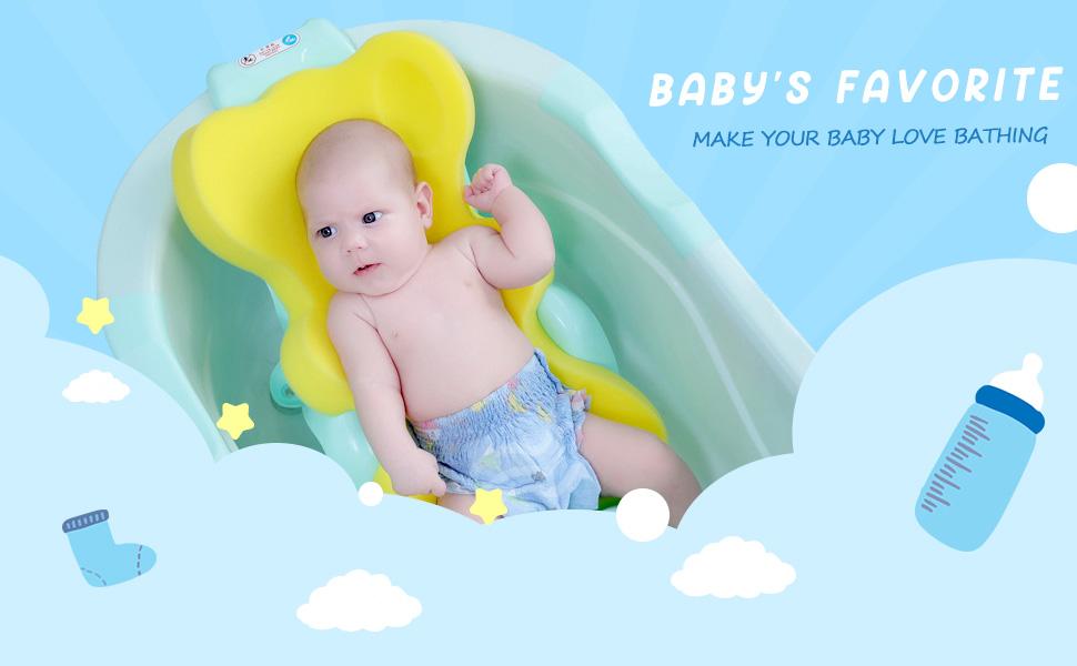 baby bath sponge