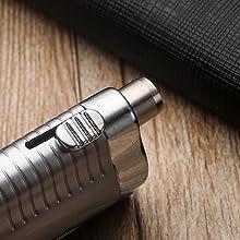 cigar lighter built-in cigar puncher