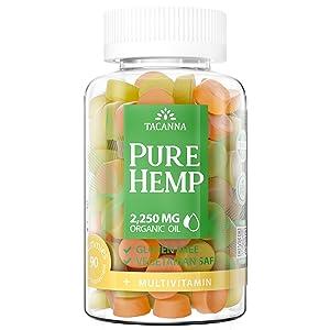 tacanna natural hemp gummies ultra value hemp oil gummy best hemp products wellution cbdmd