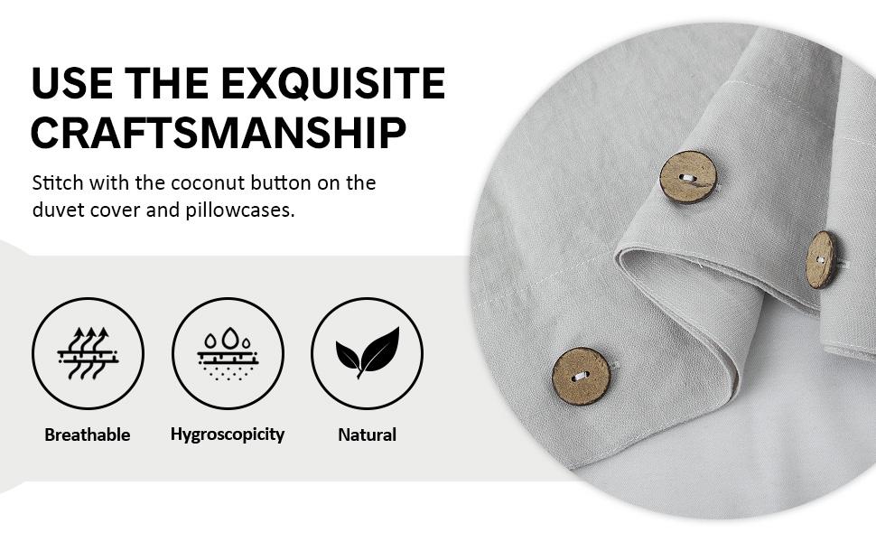 coconut button closure