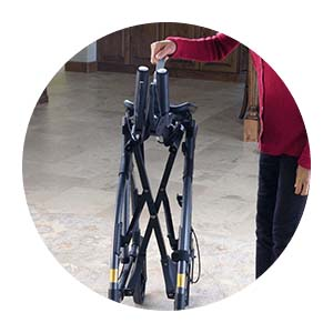 Upwalker, UPWalker upright walker, walker, walk upright, stability, fold frame, frame, portable