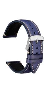 wocci watch bands 時計ベルト 腕時計バンド メンズ レディース カモフラージュ レザー 革 バックル 18 20 22 交換 替え 工具 ピン スプリングバー ラグ幅