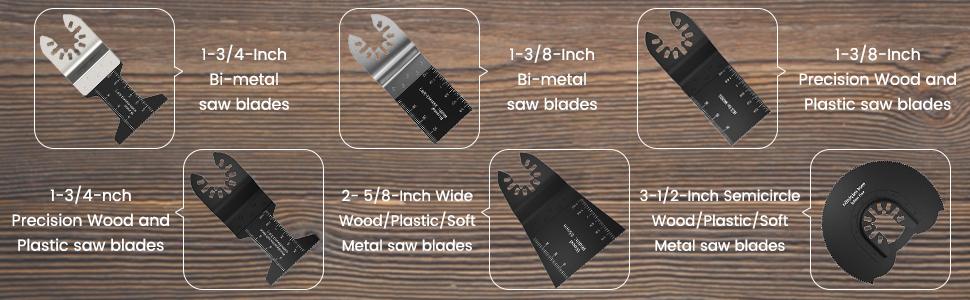 fine tool blades