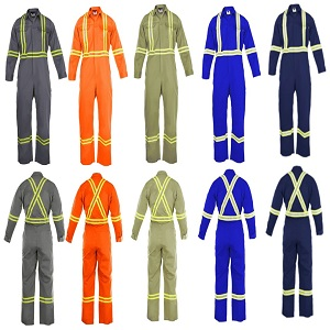 Flame Resistant FR Coveralls