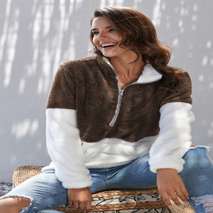 Fleece Fur Pullover