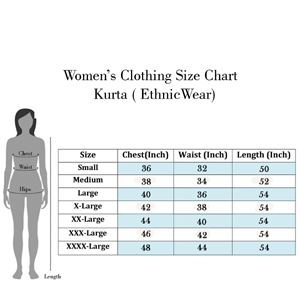 size chart for kurta