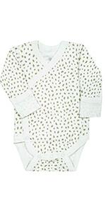 organic cotton kimono bodysuit onesie sleep gown sleep wear wearable gown baby newborn preemie