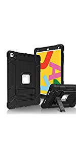 iPad 10.2 2019 7th Generation Rugged Kickstand Protective Case
