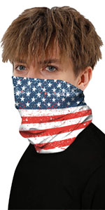 Half Face Mask Bandanas for Motorcycle Cycling