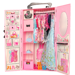 closet for 11.5 inch doll