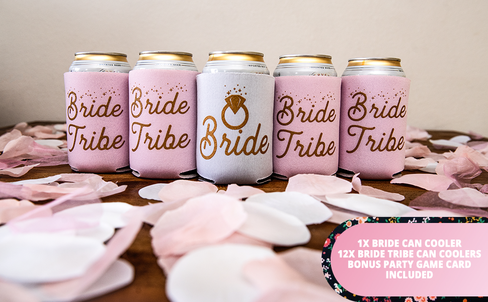 Bridal Shower Favor She/'s Getting Meowied Bachelorette Party Last Meow Personalized Bach Bash Beer Can Holder