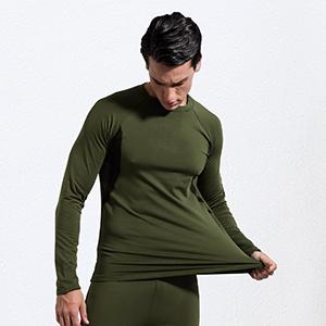 mens insulated underwear set