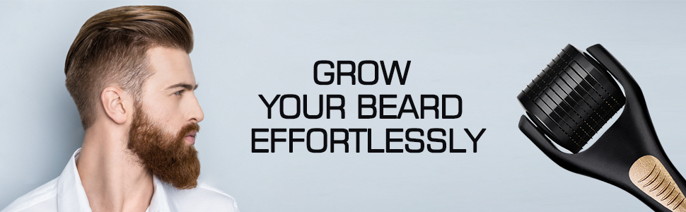 derma roller men beard