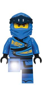 LEGO Ninjago Legacy Jay Minifigure Torch Flashlight